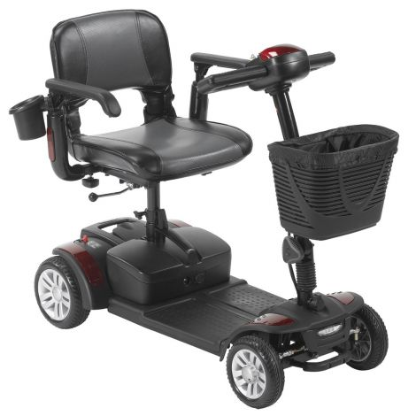 SFEX2417FS-12;SFEX2417FS-21 Drive Medical Spitfire EX2 4-Wheel Mobility Scooter