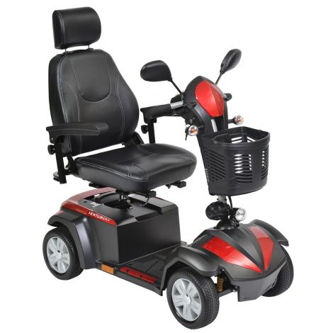 VENTURA418CS; VENTURA420CS Drive Medical Ventura DLX 4-Wheel Mobility Scooter