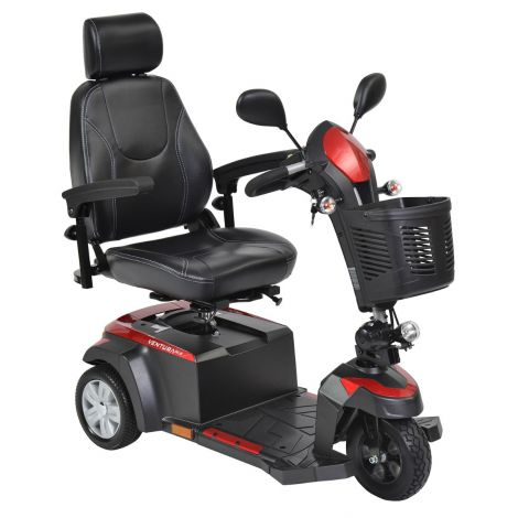 VENTURA318CS;VENTURA320CS Drive Medical Ventura DLX 3-Wheel Mobility Scooter
