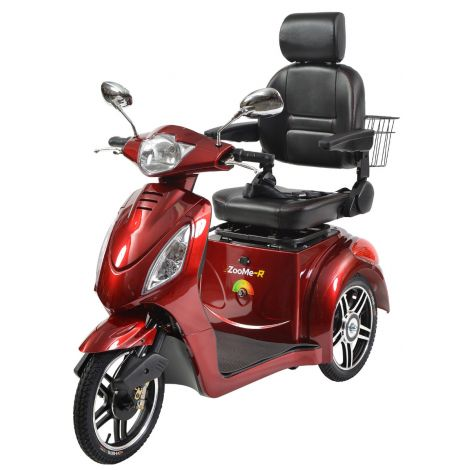 ZOOME-R318CS Drive Medical ZOOME-R 3-wheel Mobility Scooter