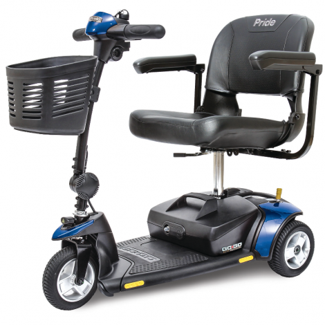 Pride Go-Go® Elite Traveller 3-Wheel Mobility Scooter