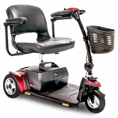 Pride Go-Go Elite Traveller® Plus 3-Wheel
