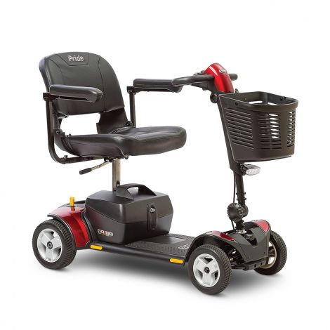 Pride Go-Go Elite Traveller® Plus 4-Wheel