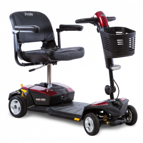 Pride Go-Go® LX with CTS Suspension 4-Wheel Mobility Scooter