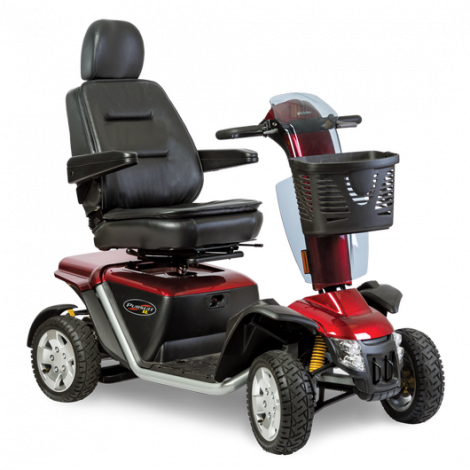 Pride Pursuit® XL 4-Wheel Mobility Scooter