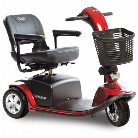 SC610 Pride Victory® 10 3-Wheel Mobility Scooter