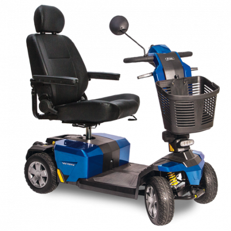 S710LX Pride Victory® 10 LX with CTS Suspension 4-Wheel Mobility Scooter