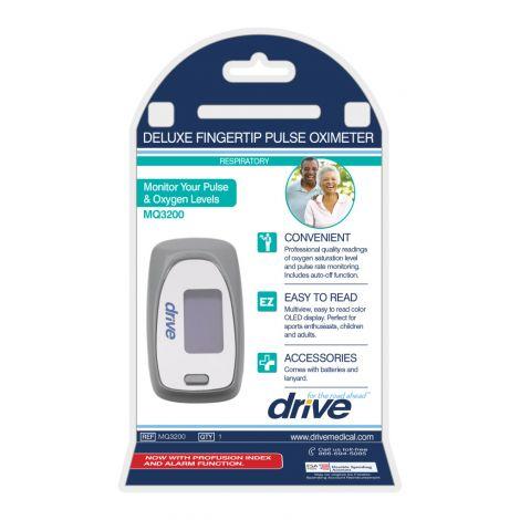 Drive Medical View SpO2 Deluxe Pulse Oximeter MQ3200
