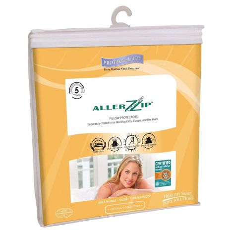 Protect-A-Bed AllerZip Smooth Pillow Protector BOM1166F