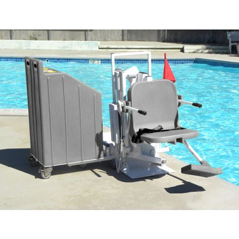Aqua Creek Patriot Portable Pool Lift F-12PPL-HD