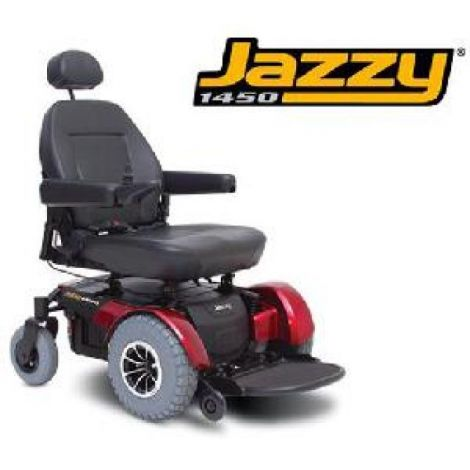 Pride Jazzy® 1450 Power Wheelchair