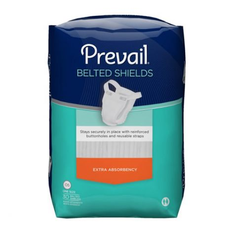 First Quality Prevail Belted Shields, Extra PV-324