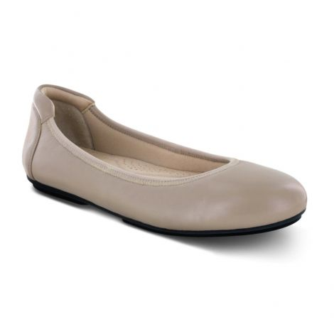 Apex Women's Ballet Flats Taupe BF110
