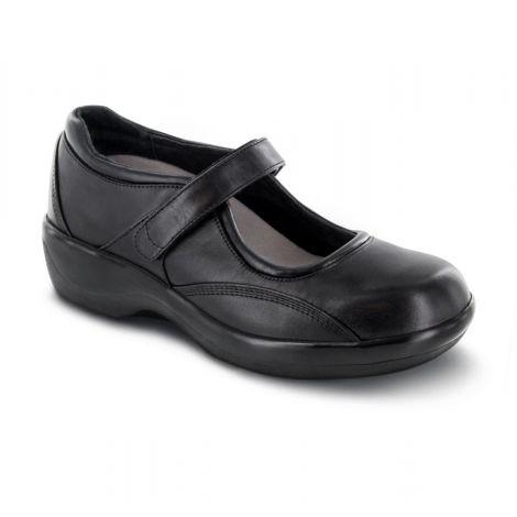 Apex Women's Biomechanical Mary Jane Black Shoes B6000W