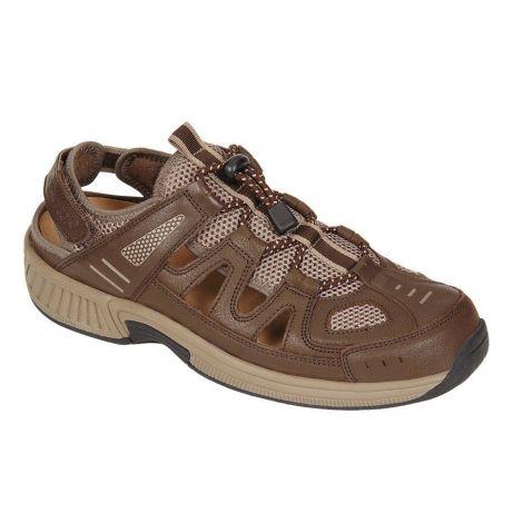 Orthofeet Alpine Brown Orthotic Sandal 593