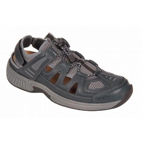 Orthofeet Alpine Gray Orthotic Sandal 598