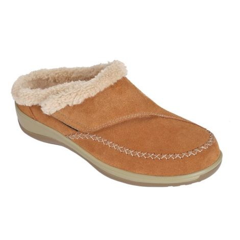 Orthofeet Charlotte Brown Slippers S731