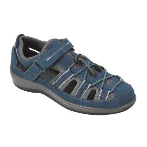 Orthofeet Naples Blue Sandals 875