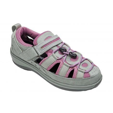 Orthofeet Naples Gray Sandals 883