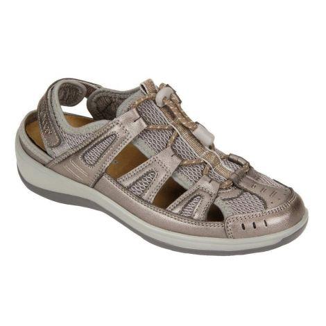Orthofeet Verona Pewter Sandals 997