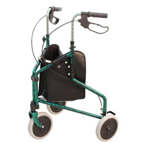 Merits Orion 3-Wheeled Lightweight Rollator