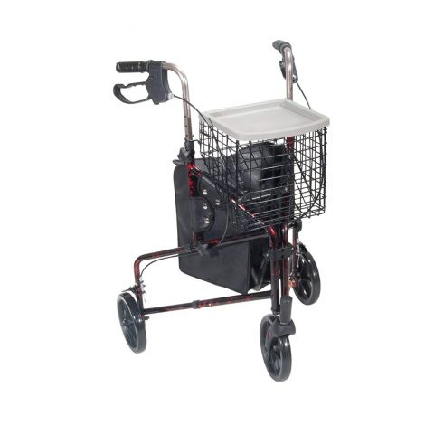 Drive Medical Deluxe 3-Wheel Rollator