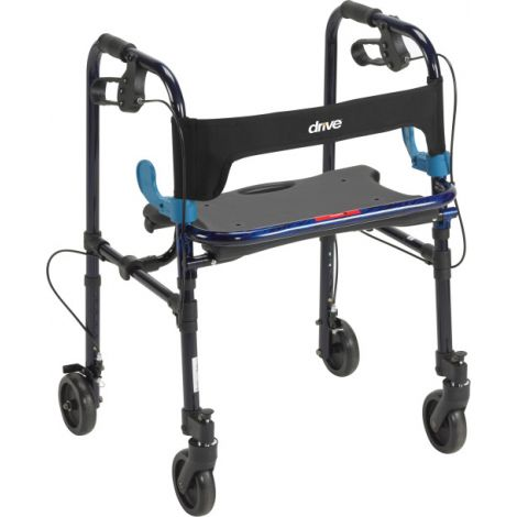 "Drive Medical Clever-Lite Rollator w/ 5"" Casters"
