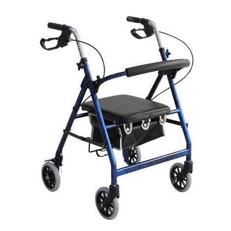 Merits Darado Junior 4-Wheeled Aluminum Rollator