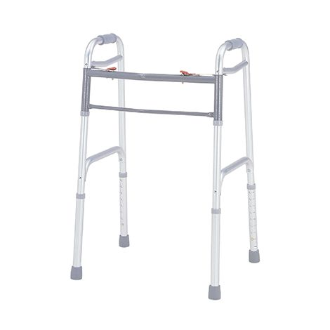 Merits Deluxe Folding Walker, Two Button