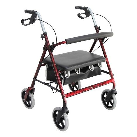 Merits Hercules 4-Wheeld Bariatric Rollator